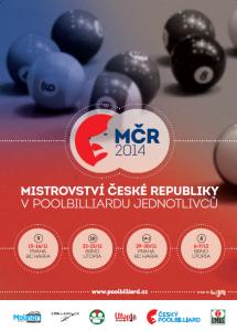 MČR jednotlivci 2014 plakát