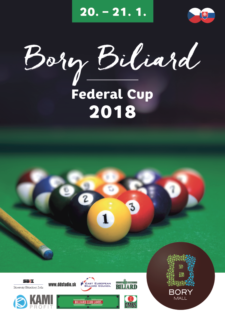 poster bory biliard federal cup final
