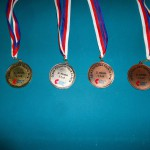 Medaile ČPTour 32 2018