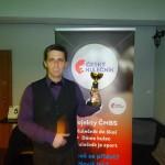 3. místo 8 ball, Serge Dupraz