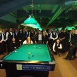 Účastníci MR seniorů 9 ball