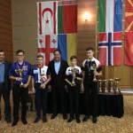 Vyhlášení vítězů kategorie U17