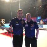 Michal Gavenčiak a Roman Hybler na World Cup of Pool 2019