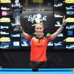 Vítězka ženského EuroTouru, Jasmin Ouschan, Rakousko