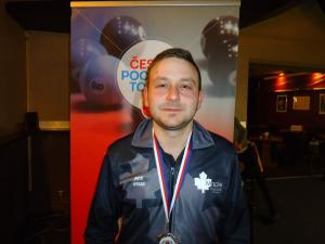 2. místo, Petr Urban, ČPTour 9 ball 2020